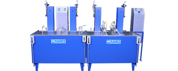 ramco tool cleaning machine